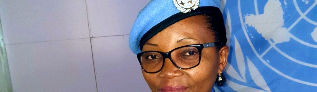 Rebecca Nnanga est la femme policière 2020 de l'ONU
